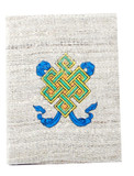 Hemp Tibetan Buddhist Eternity Knot Journal