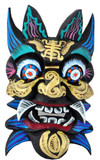Himalayan Painted Fortune Design Mask