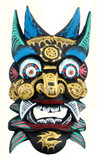 Himalayan Wooden Painted Mask