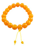 Huge 20 mm Beeswax Mala Prayer Beads