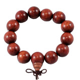 Huge Wooden Prayer Beads Wrist Mala