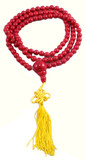Red Coral Prayer Beads Mala