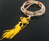 Rock Crystal Mala Prayer Beads