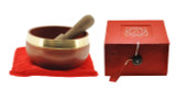 Root Chakra Singing Bowl Gift Set