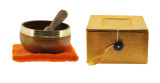 Sacral Chakra Singing Bowl Gift Set