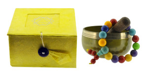 Solar Plexus Charka Singing Bowl Set