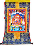 Srid-Pa-Ho Protection Mandala Thangka