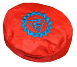 5th Chakra Singing Bowl Pillow