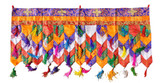 Tibetan Buddhist Brocade Prayer Flag