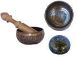 Singing Bowl Brown, 4.25 inches wide