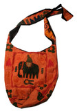 Tibetan Handmade Elephant Shoulder Bag Purse- Large!