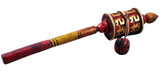 Tibetan Handmade Wooden Colorful Hand-Held Prayer Wheel