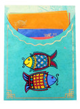 Tibetan Two Fish Symbol Stationery
