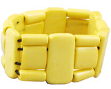 Tibetan Yellow Yak Bone Bracelet
