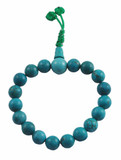 Turquoise Prayer Beads Wrist Mala