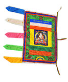 White Tara Buddha Prayer Flag