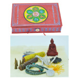 Travel Altar Set in a Lokta Paper Box