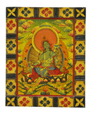 Green Tara Buddha Painting