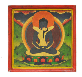 Samantabadra and Samantabadri Buddha Painting