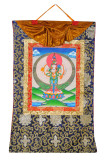 Avalokitesvara Thangka, Hand-Painted in Nepal