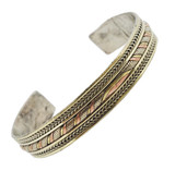 Tibetan Three-Metal Bracelet