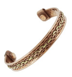 Braided Three-Metal Bracelet