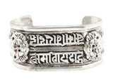 Buddhist Double Mantra Dragons Bracelet