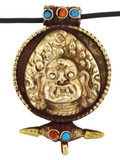 Mahakala Buddha Prayer Box, Brass