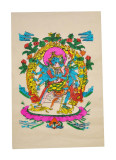 Vajrayogini with Consort Poster