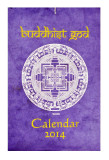 Buddhist God 2014 Calendar, Handmade from Lokta Paper, Mandala Design