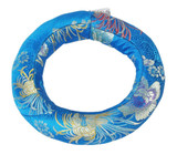 Extra-Large Tibetan Singing Bowl Ring, Blue