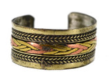 Three-Metal Braided Ring
