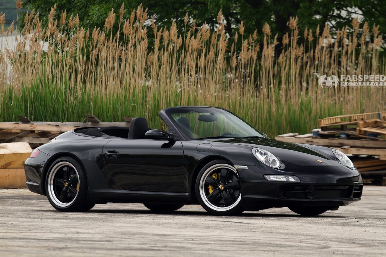 In The Shop Porsche 997 Carrera Cabrio Fabspeed Motorsport