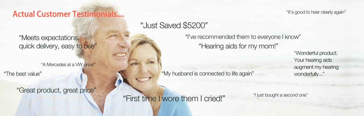 hearing aid testimonials