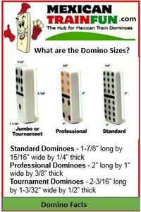 domino sizes