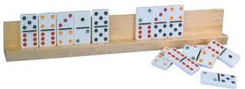 Long Wood Domino Rack