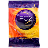 A front side image of the fc2 Female Condoms