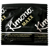 Kimono Maxx Large Lubricated Condoms, 12 Count