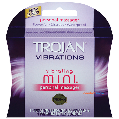 A front side image of the Trojan Vibrations Vibrating MINI.