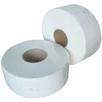 Mini Jumbo Toilet Tissue 12 x 200M Rolls (72mm Core)