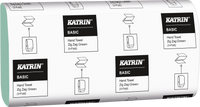 Katrin Interfold Green Hand Towels 1Ply Case 5000 Towels 100683