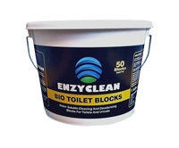 Enzyclean Bio Toilet Blocks 1kg Tub