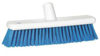 "12"" Soft Plastic Hygiene Broom Head (Choose Colour)"