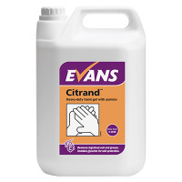 Citrand Heavy Duty Hand Gel with Pumice 5L