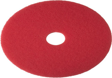 "Floor Pads Red 15"" & 17"" ideal for Spray Cleaning and standard burnishing with a high speed machine."