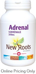 NEW ROOTS ADRENAL WITH PEPPERMINT 90caps