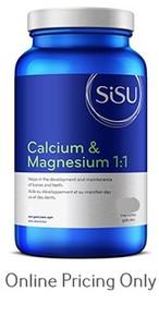 SISU CALCIUM AND MAGNESIUM 1:1 300caps