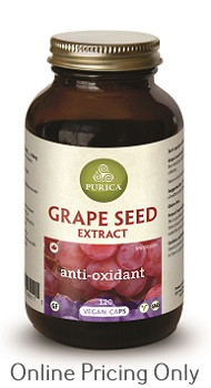 PURICA GRAPE SEED EXTRACT 120vcaps