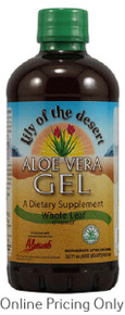 LILY OF THE DESERT ALOE VERA GEL WHOLE LEAF 946ml