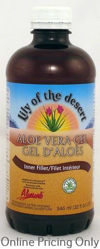 LILY OF THE DESERT ALOE VERA GEL INNERFILET 946ml
